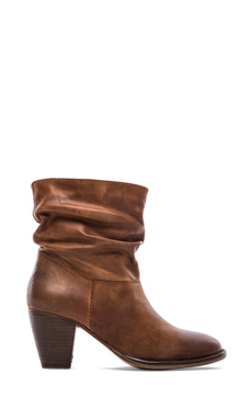 Steven Welded Bootie in Cognac