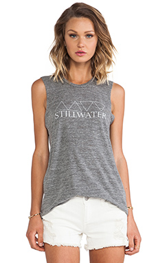 THE MUSCLE TANK STILLWATER PRINT