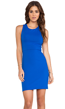 Susana Monaco Cross Back Dress in Sapphire