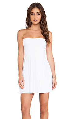 Susana Monaco Harlow Strapless Dress in Sugar