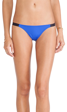 TAVIK Swimwear Heather Bikini Bottom in Blue