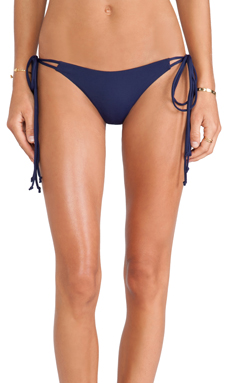 TAVIK Swimwear Justyna Bikini Bottom in Navy
