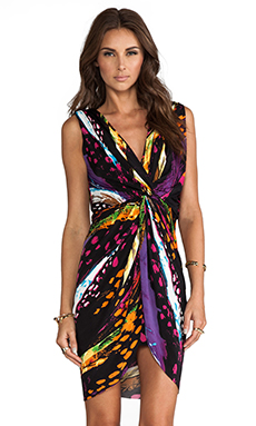 T-Bags LosAngeles Knot Dress in Galactic