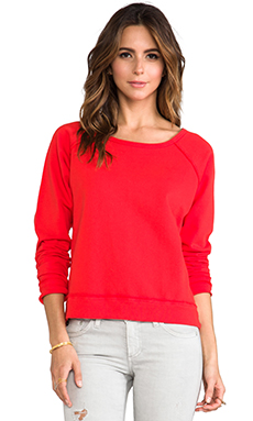 TEXTILE Elizabeth and James Perfect Sweatshirt in Empire Red