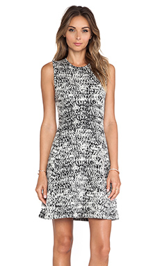 Theory Alancy C Dress in Pixel Multi