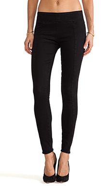 thvm Charcoal Legging in Faded Black