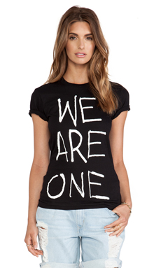 thvm Behati We Are One Tee in Black One