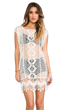 Tigerlily Hansa Dress in White