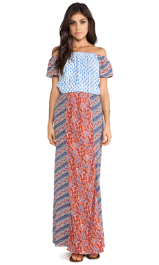 Tigerlily Indienne Maxi Dress in Patchwork