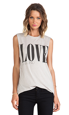 LOVE IS BLIND MUSCLE TEE