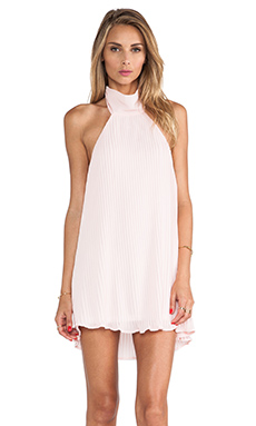 Toby Heart Ginger Envy Halter Dress in Baby Pink