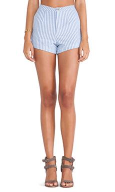 Toby Heart Ginger Jagger Shorts in Chambray