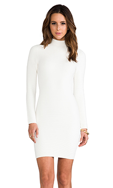 Torn by Ronny Kobo Moria Dress in White