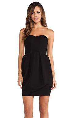 Torn by Ronny Kobo Ciara Dress in Black