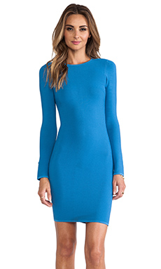 Torn by Ronny Kobo Coco Dress en Bleu
