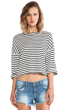 TOWNSEN Captain Top in Black