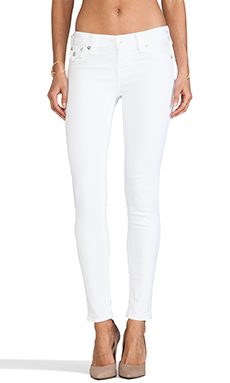 True Religion Serena Legging in Optic White