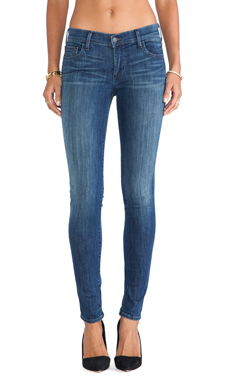 True Religion Casey Skinny in Midnight Fog