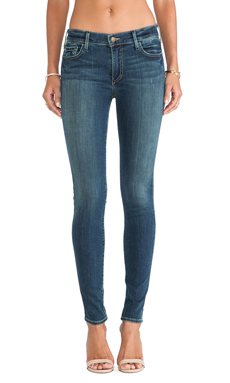 True Religion Halle Skinny in Evening Shadows