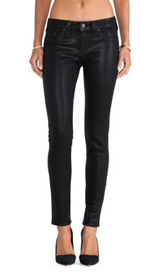 True Religion Halle High Rise Skinny in Black