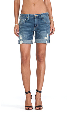 True Religion Miles Relaxed Short in Stoney Point