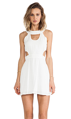 This is a Love Song Atlantic Plain Dress in White