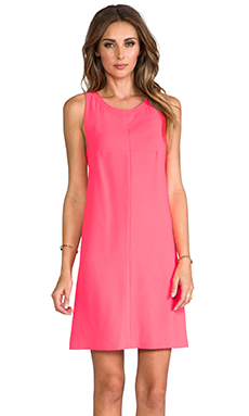 Trina Turk Lysett Dress in Hot Coral