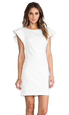 Trina Turk Odele Dress in White Wash