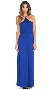 Trina Turk Goldie Maxi Dress in Royal Blue