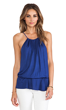 Trina Turk Delice Top in Marine