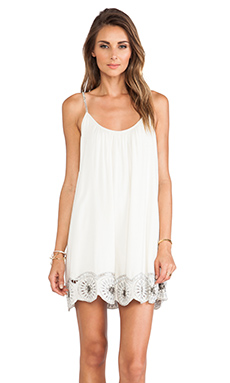 Tularosa Hagar Mini Dress in Ivory