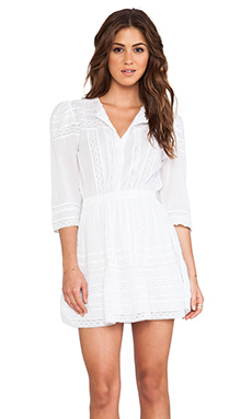 Tularosa Payton Dress in White