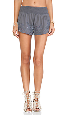 Tularosa Bianca Short in Folk Stone Grey