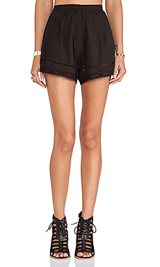 Tularosa Tucker Short in Black