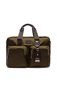 Tumi Alpha Bravo Everett Essential Tote in Olive