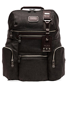 Tumi Alpha Bravo Ballistic Nylon Knox Backpack in Anthracite