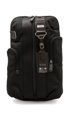 Tumi Alpha Bravo Monterey Slim Backpack in Hickory