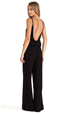 Tysa Perle Jumpsuit in Black