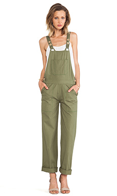 Ulla Johnson Annie Overall in Olive