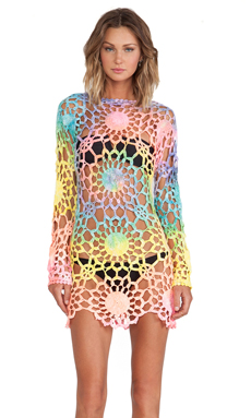 UNIF Astra Dress in Tie Dye
