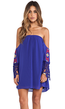 VAVA by Joy Han Libby Dress in Blue
