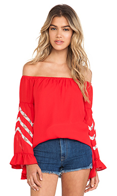 MIRANDA OFF SHOULDER TOP