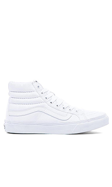 Vans SK8-Hi Slim Sneaker in True White