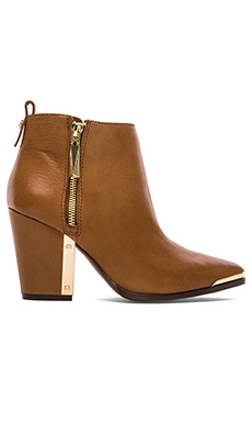 Vince Camuto Amori Bootie in Burnt Saddle