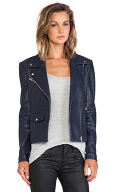 VEDA Lazer Classic Jacket in Navy