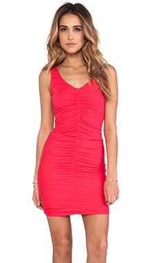 Velvet by Graham & Spencer Tivonia Gauzy Whisper Dress in Pimento