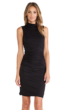 Velvet by Graham & Spencer Alanna Turtleneck Dress in Black