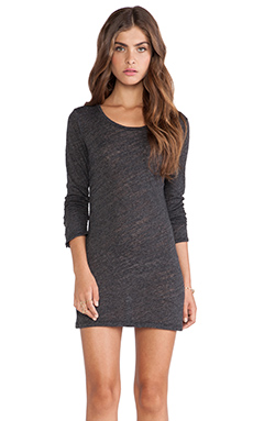 Velvet by Graham & Spencer Eliza Soft Textured Knit Dress in Black