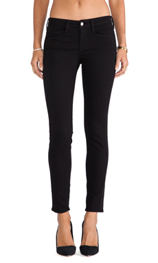 Velvet by Graham & Spencer Tuexedo Skinny in Noir