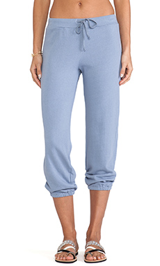 Velvet by Graham & Spencer Adelpha Vintage French Terry Sweatpants in Powder Blue